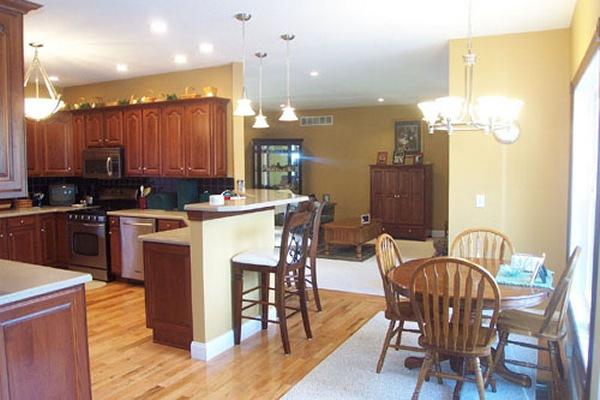 Breakfast Room in Mount Vernon Ohio Home