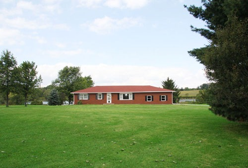 Fredericktown Ohio Home With Land