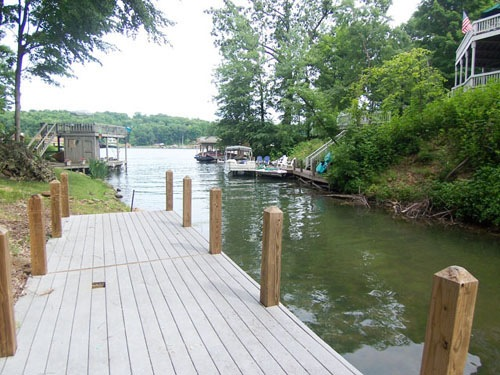 Apple Valley Waterfront Boat Dock