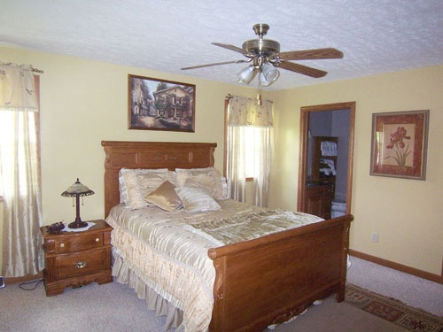 Apple Valley Lake Master Bedroom