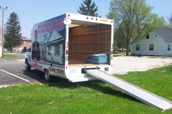 Sam Miller Moving Truck
